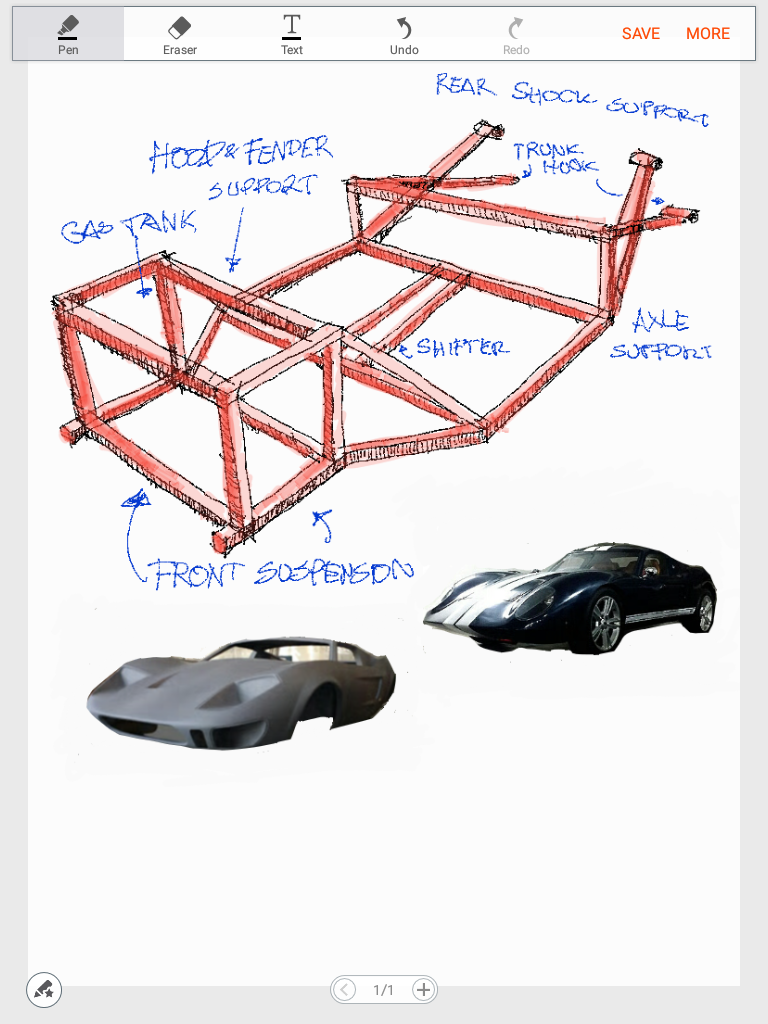 Mid Engine Chassis Design Dreamrider Garage Rear Diagram Prototye Will Be Create Once Our New Shop Finish